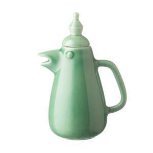 arya pandjalu coffee pot drinkware jenggala artwork ceramic teapot