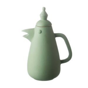 arya pandjalu coffee pot drinkware jenggala artwork ceramic teapot