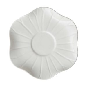 cream kahala lotus saucer saucers
