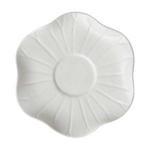 cream kahala lotus saucer saucers