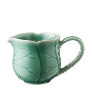 creamer creamers dark green gloss lotus