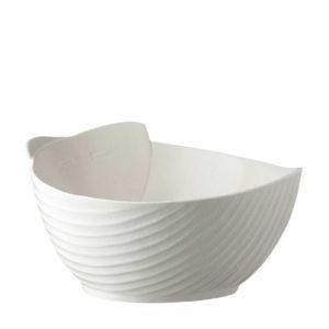 cream kahala pincuk salad bowl