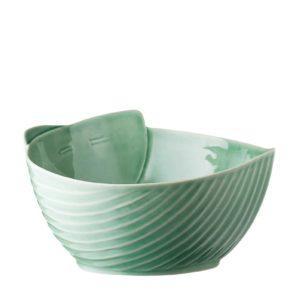 dark green gloss pincuk salad bowl