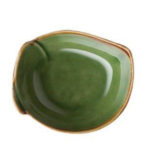 grenn gloss with brown rim pincuk