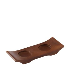 dining frangipani tray wood