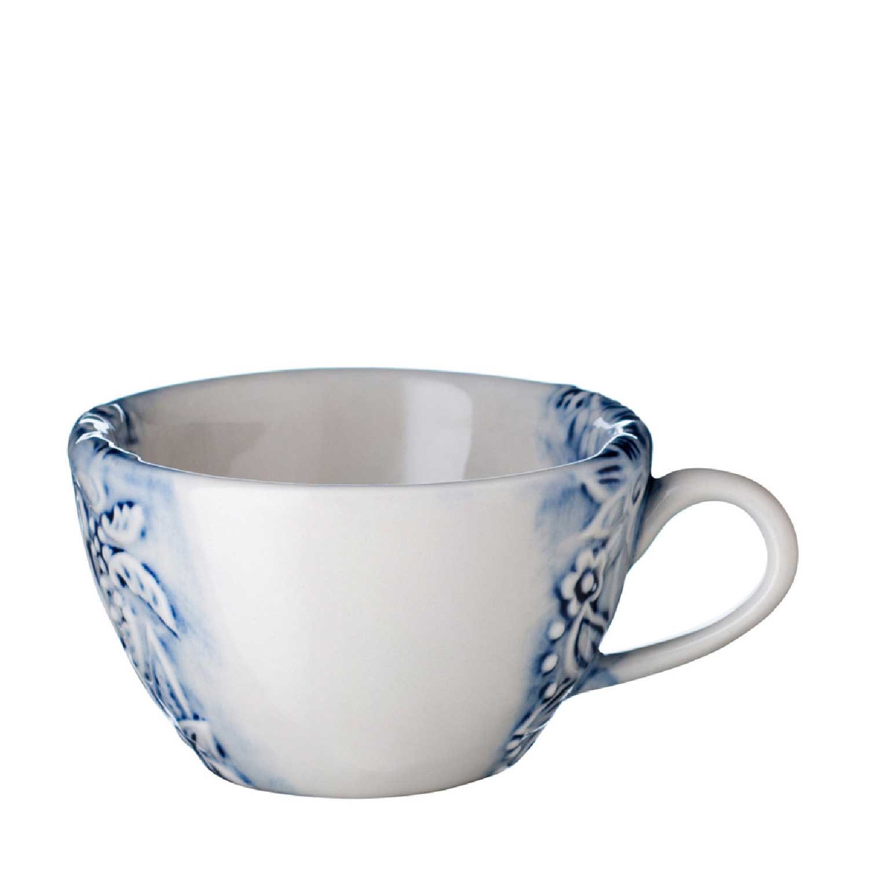 Batik Cappucino Cup & Saucer