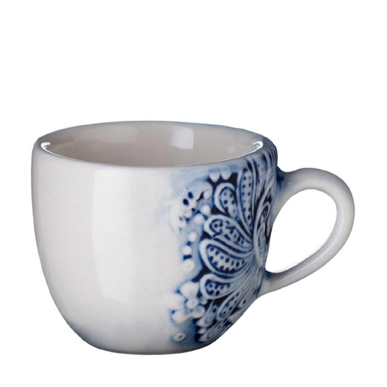 Batik Espresso Cup & Saucer Set