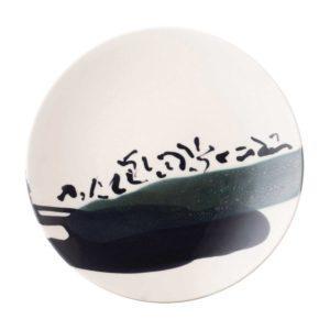anna van borselen breakfast plate ceramic plate dining jenggala artwork ceramic