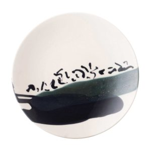 anna van borselen breakfast plate dining jenggala artwork ceramic plate