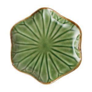 lotus collection sauce dish