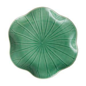 dessert plate lotus collection