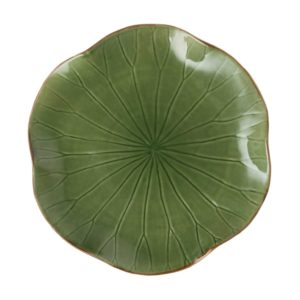 lotus collection serving plate