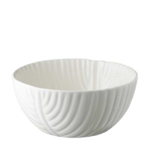 banana leaf collection ceramic bowl