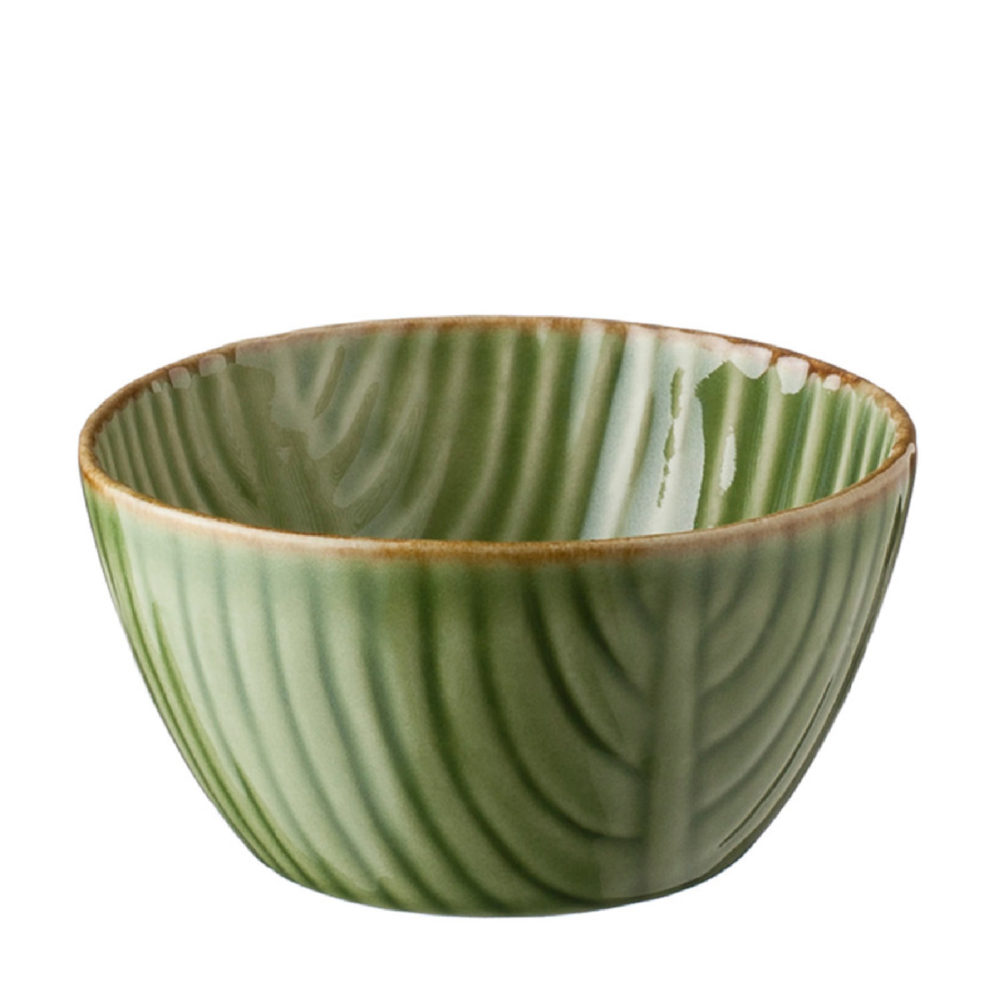 MEDIUM BANANA LEAF RICE BOWL 4