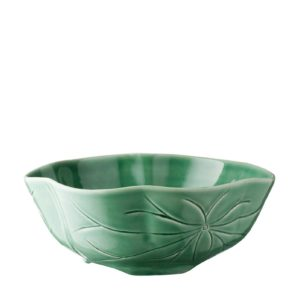 lotus collection salad bowl