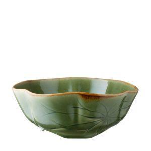 lotus collection salad bowl