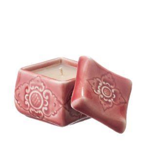 candle candle holder ceramic gift item light manggis sokasi stoneware