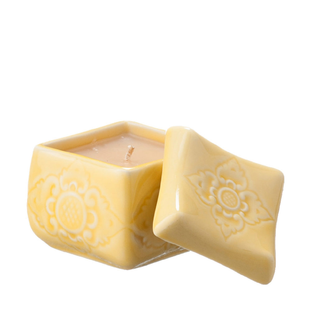 AMBER & GINGER FRAGRANCE SOKASI CANDLE