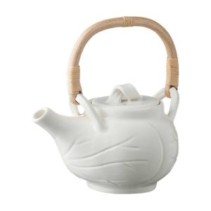 coffee collection coffee pot drinkware lotus stoneware tea teapot