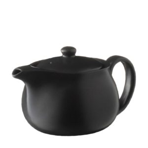 ceramic classic coffee coffee pot drinkware jugs satin charcoal black stoneware tea teapot