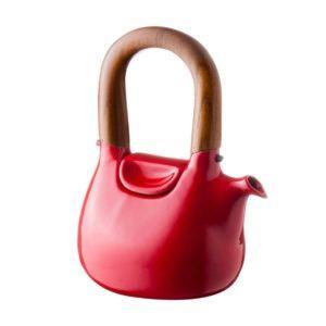 ceramic coffee coffee pot drinkware ferrari red gloss handbag jugs stoneware tea teapot