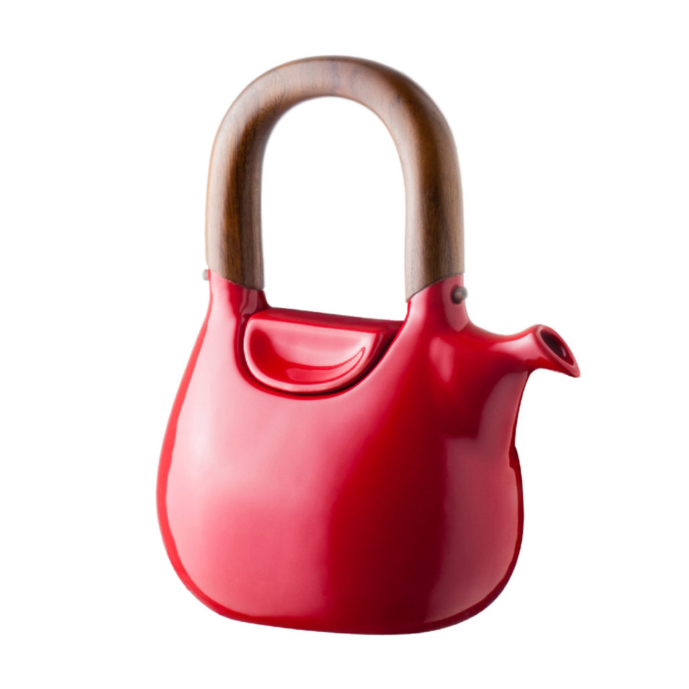 LARGE HANDBAG TEA POT 4