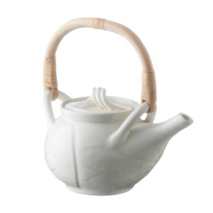 ceramic coffee coffee pot cream kahala drinkware lotus stoneware tea teapot