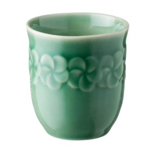ceramic cup dark green gloss drinkware frangipani glass inacraft award frangipani mug stoneware water