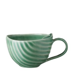 ceramic coffee cup dark green gloss drinkware espresso saucer glass mug pincuk saucer small saucer stoneware tea teaset