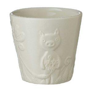 cup jenggala artwork ceramic tomoko konno transparent white