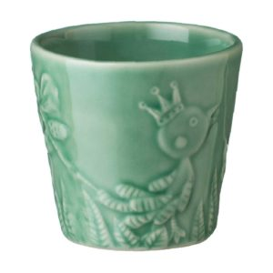 artwork cup cup & saucer dark green gloss tomoko konno