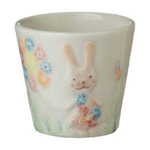 artwork cup drinkware tomoko konno transparent white with handpainting