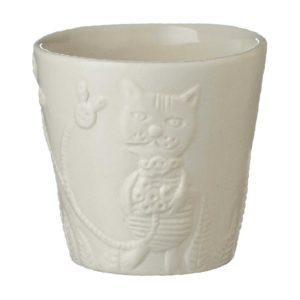cup tomoko konno transparent white