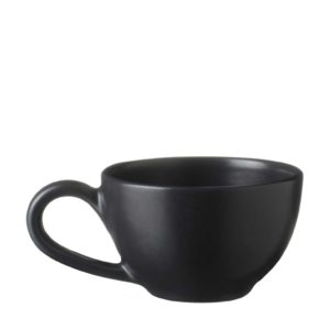 ceramic classic coffee cup drinkware espresso saucer glass mug satin charcoal black saucer small saucer stoneware tea teaset