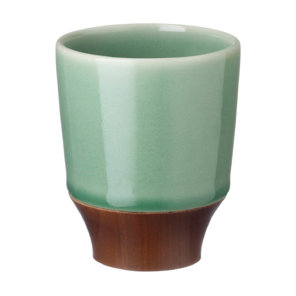 LARGE KENDI CUP WITH WOOD 2
