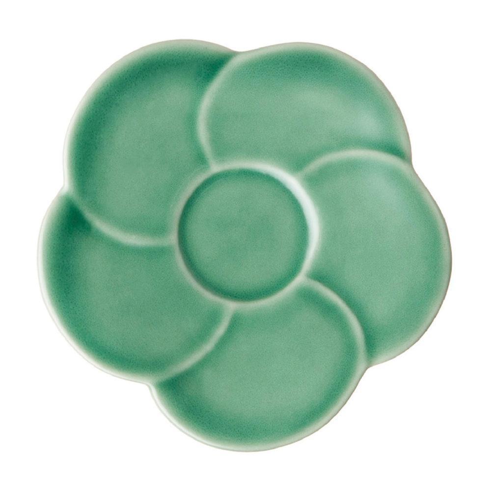 SMALL SINGLE FLOWER FRANGIPANI SAUCER2