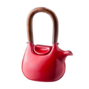ceramic coffee coffee pot drinkware ferrari red gloss handbag jugs stoneware tea teapot teaset