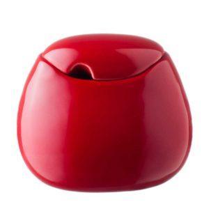 ceramic coffee drinkware accessories ferrari red gloss handbag stoneware sugar sugar bowl tea teaset