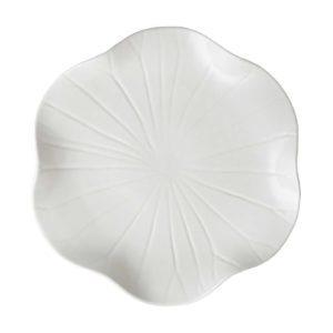 cream kahala dessert plate lotus