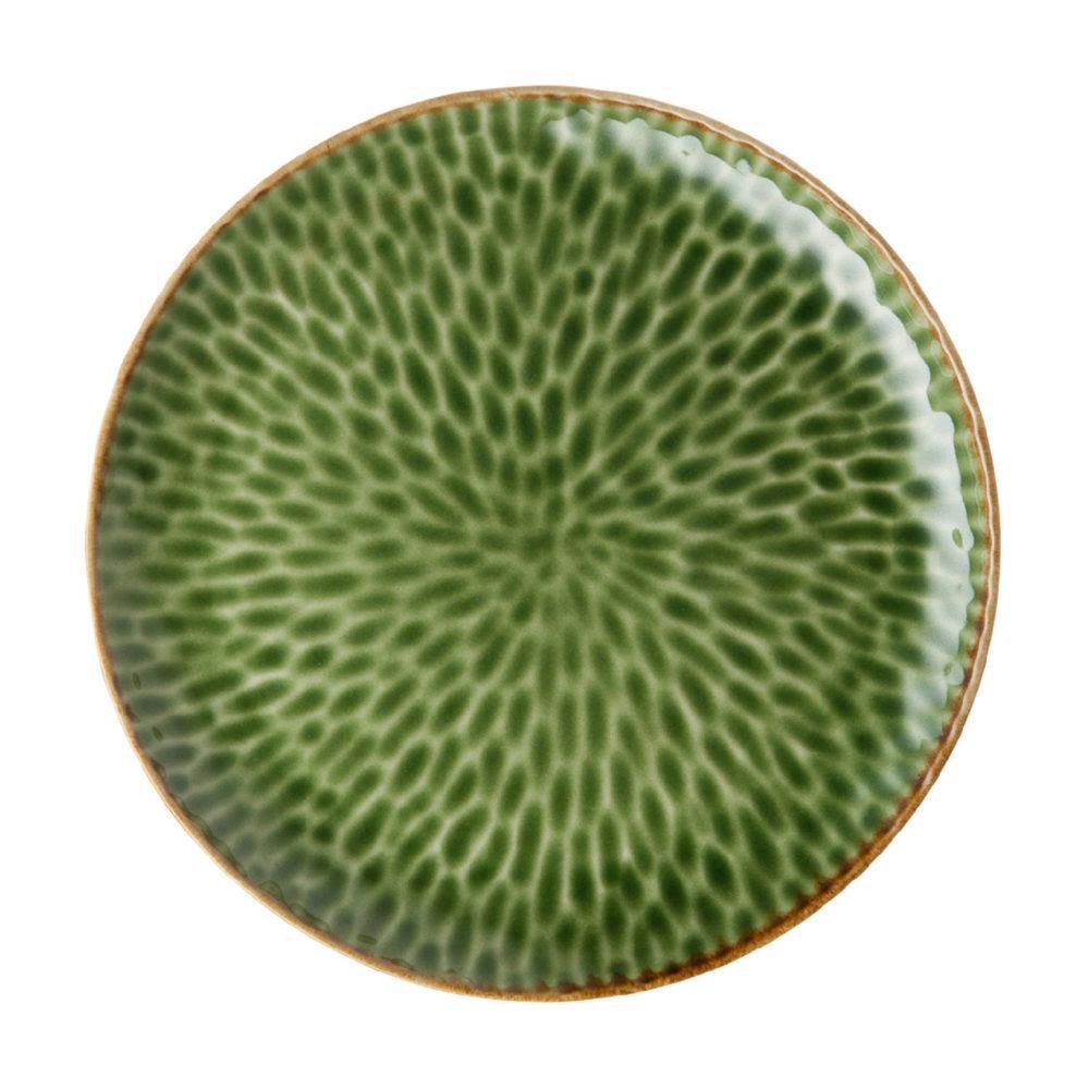 HAMMERED DESSERT PLATE 5