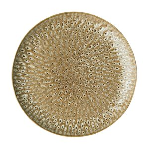 ceramic plate dining dinner plate hammered collection