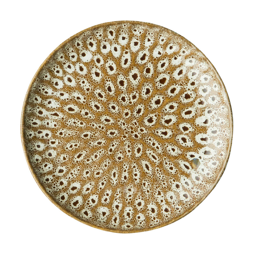 HAMMERED BREAD & BUTTER PLATE 7