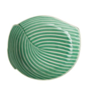 dark green gloss dessert plate pincuk