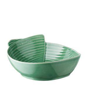 bowl dark green gloss pincuk