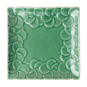 bread and butter plate breakfast plate ceramic plate dining frangipani collection inacraft award frangipani