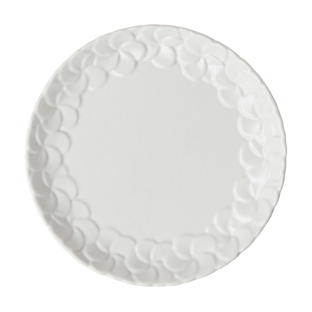 PARTIAL PATTERN FRANGIPANI BREAD & BUTTER PLATE 1