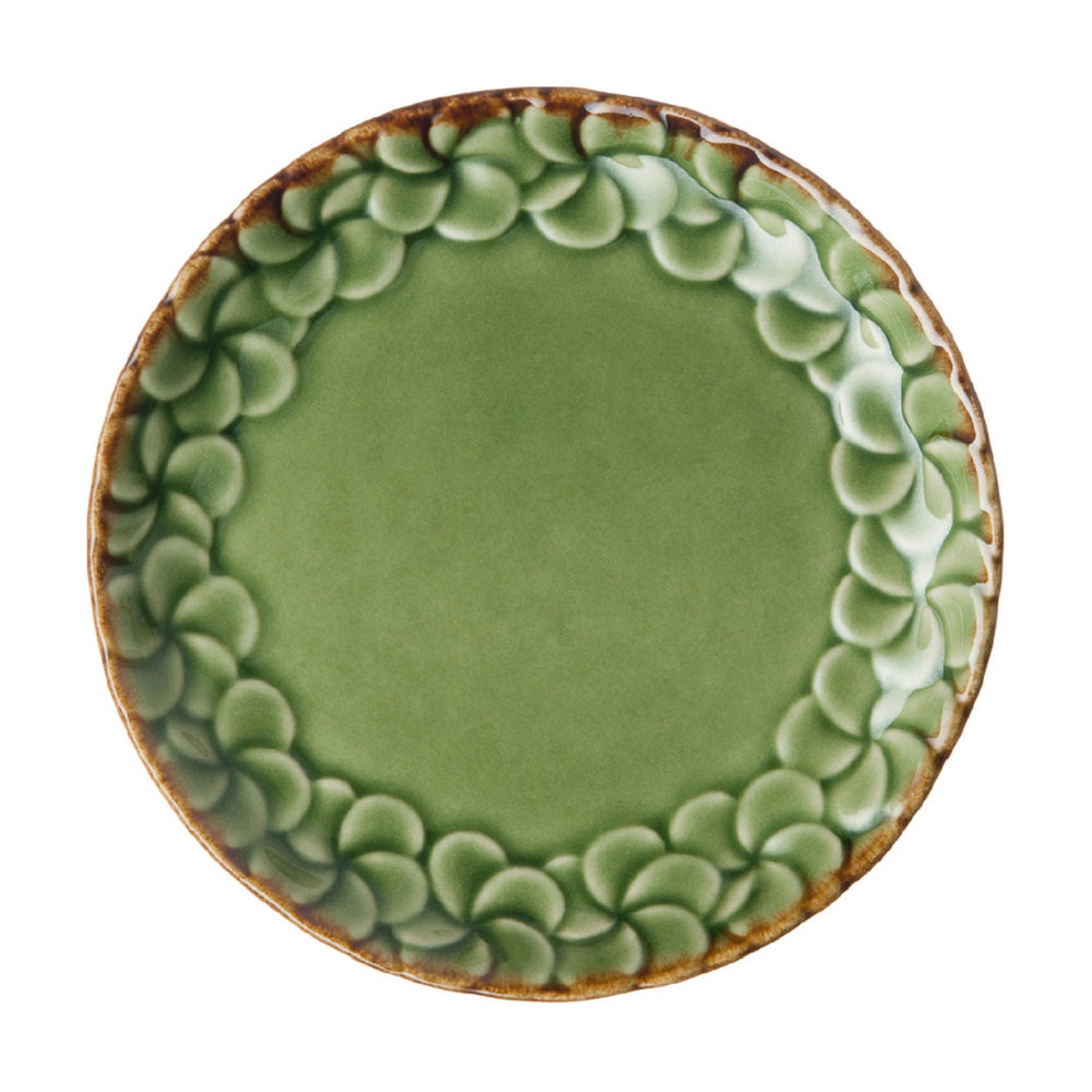 PARTIAL PATTERN FRANGIPANI BREAD & BUTTER PLATE 6