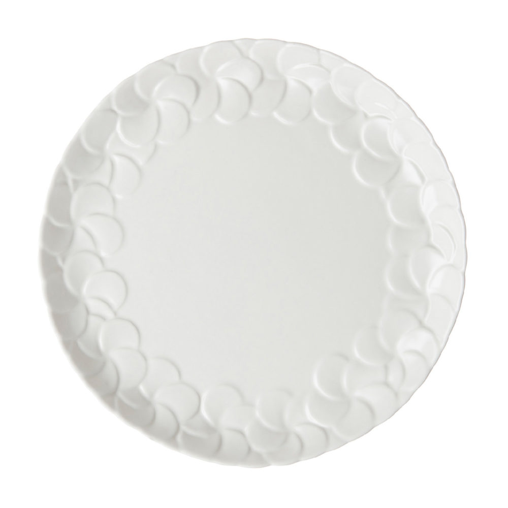 PARTIAL PATTERN FRANGIPANI DESSERT PLATE 1
