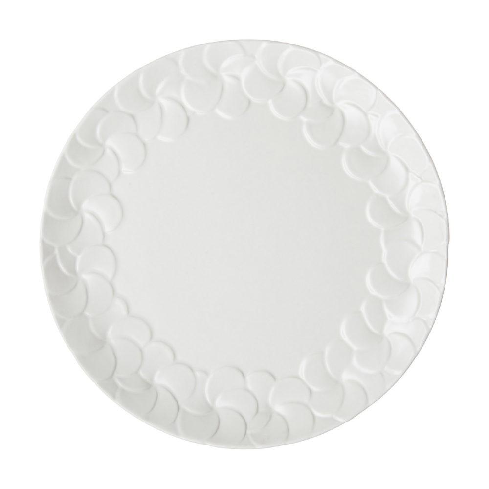PARTIAL PATTERN FRANGIPANI DINNER PLATE 1