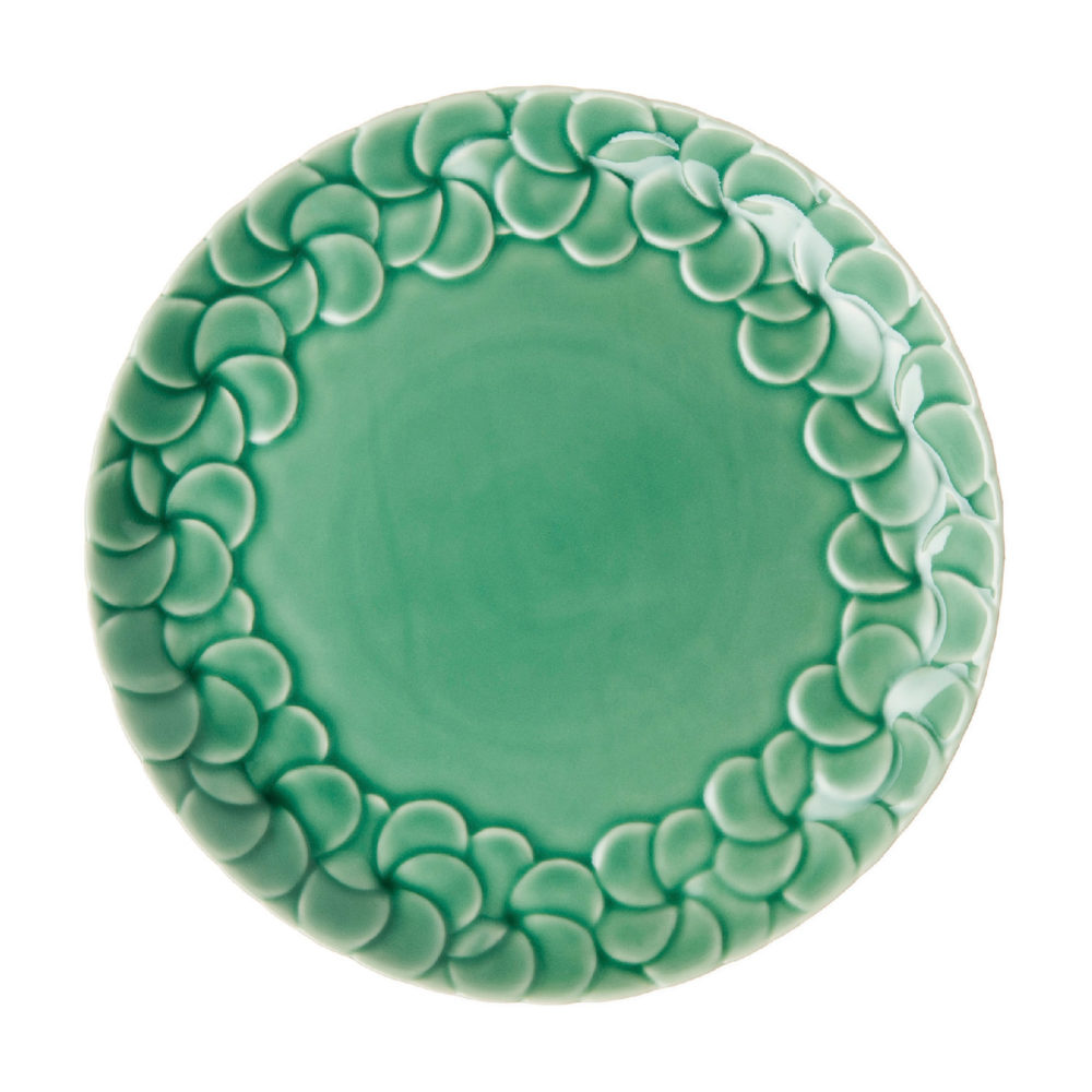 PARTIAL PATTERN FRANGIPANI DINNER PLATE 2